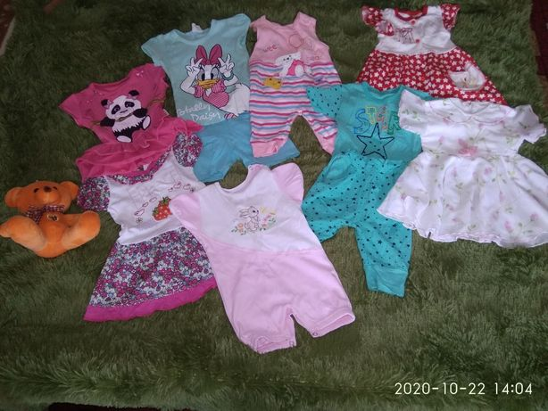Одяг пакетом для дівчаток