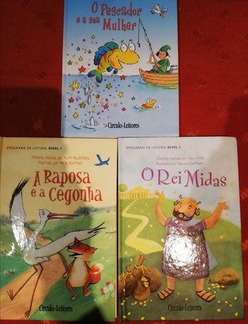 3 livros infantis