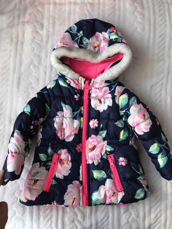 Продам зимний комплект куртка и комбинезон Carters