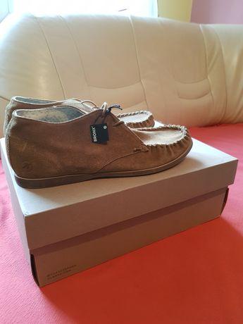 Do sprzedania zamszowe męskie buty Holenderskiej firmy BRONX .