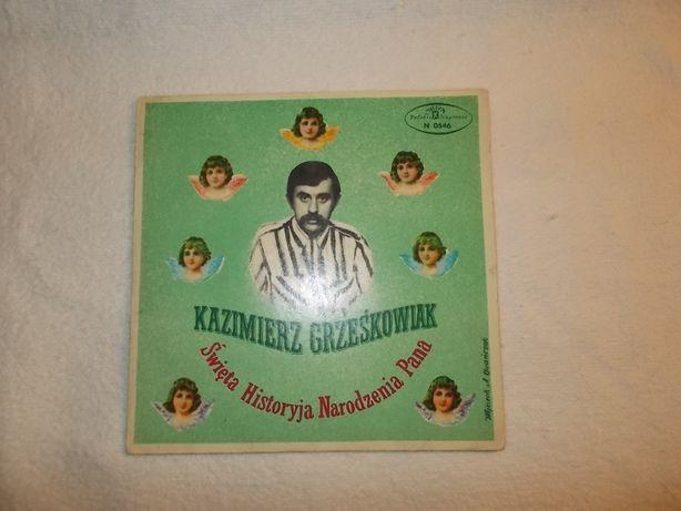 Kazimierz Grześkowiak Święta Historyja Narodzenia Pana,płyta,winyl