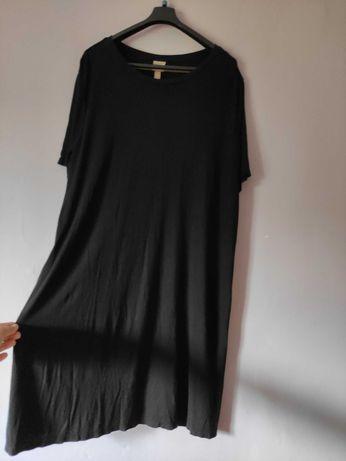 Czarna sukienka h&m plus size XL XXL xxxl 42 44 46