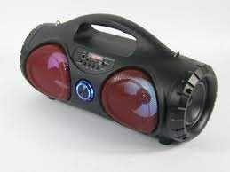 Głosnik Bluetooth Radio Led 3 kolor Pilot USB/SD