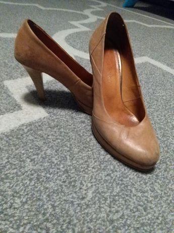 Buty skórzane skóra rozmiar 36