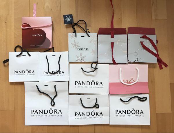 Torebka Pandora torebka prezentowa Pandora torebka papierowa