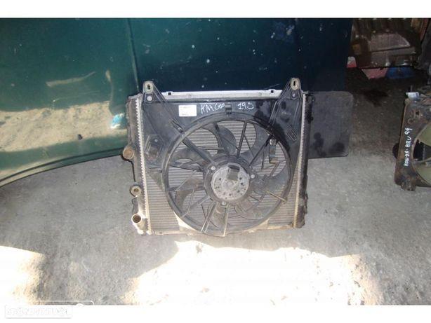 Radiador com ventiladores Renault Kangoo