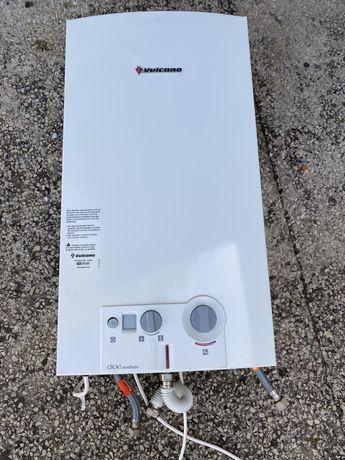 Esquentador vulcano  ventilado 14L impecavel ( entrego e instalo)