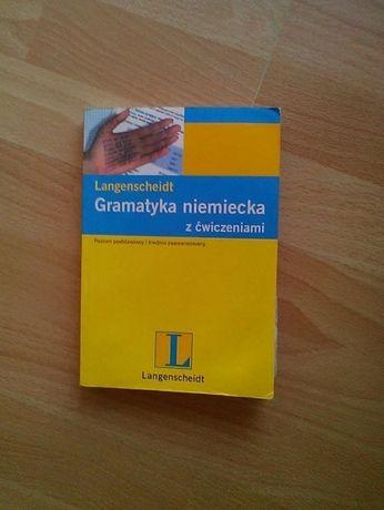 12 Gramatyka niemiecka z ćwiczeniami. Poziom podstawowy i średnio zaa