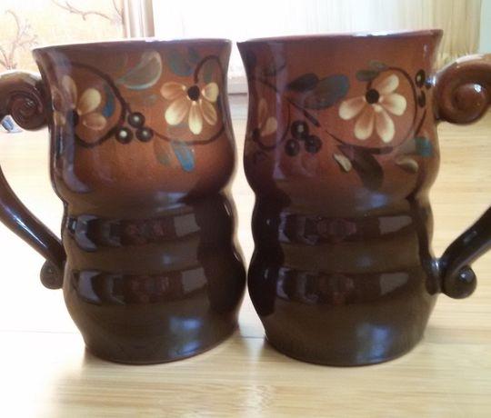 Пивная кружка чашка бокал керамика - 2 шт., ретро, СССР