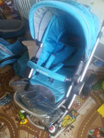 Wózek dziecięcy,gondola,fotelik,spacerowy( spacerowy składany gratis)
