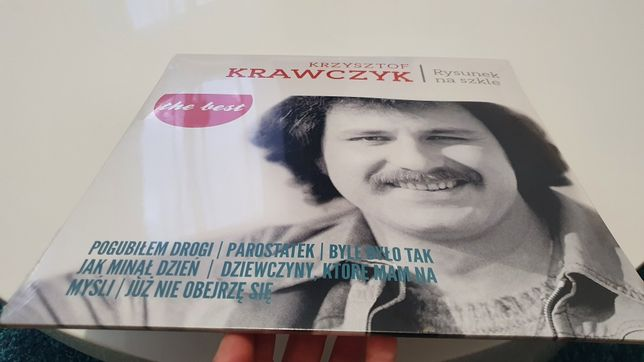 Nowa płyta vinylowa Krzysztof Krawczyk Rysunek na Szkle