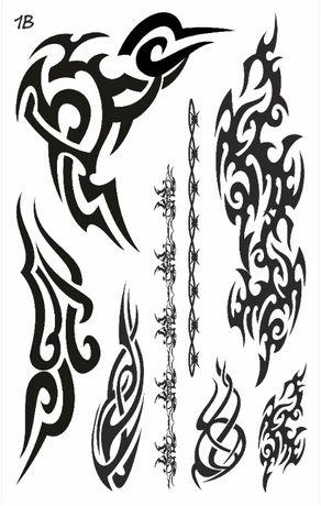 Tatuaż zmywalny Tribale 1B - oferta producenta