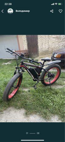 Електровелосипед gerpsi 1 kw 48 ah