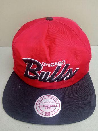 Ретро баскетбольная бейсболка Чикаго булз Chicago Bulls для коллекции