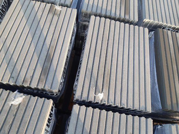 Obrzeże betonowe wibroprasowane 6x20x100 szare