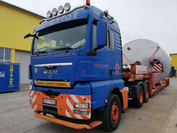 Niskopodwozie Pomoc drogowa laweta transport maszyn
