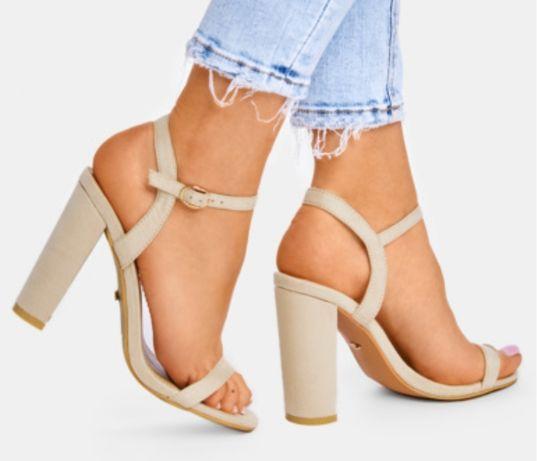 Sandałki deezee 40 bezowe nude