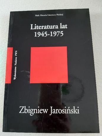 """""""Literatura lat 1945 Zbigniew Jarosiński"""
