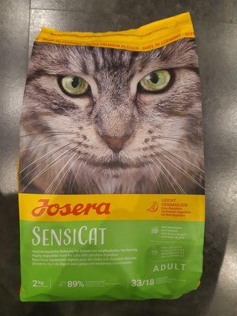 Josera SensiCat karma sucha dla kota 2kg - idealnie zbilansowana karma