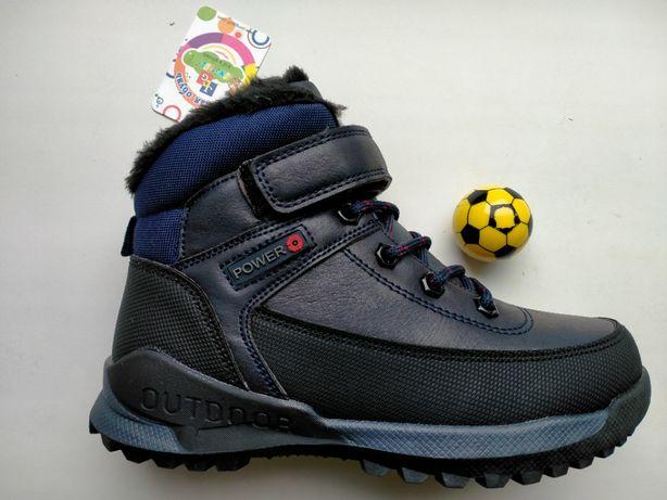 Зимние ботинки для мальчика тм jong golf рр. 32-37