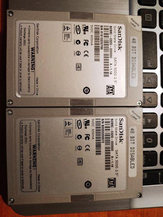 SSD диск Sandisk объем 32Gb (память MLC) Хмельницкий - изображение 1