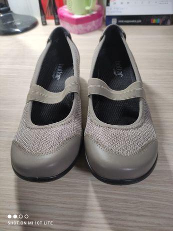 Новые туфли балетки hotter 37