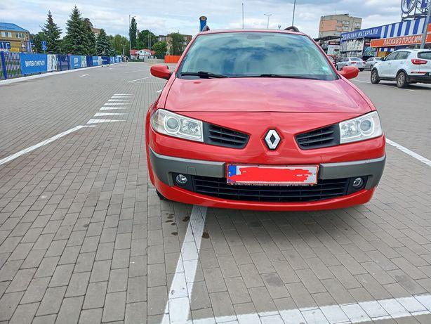 Renault Megan Рено Меган.