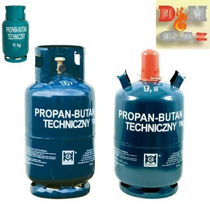 Dostawa i wymiana butli gazowych 11 lg  butle gazowe wymiana, gaz