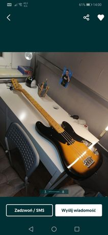 Fender Telecaster BASS.TANIO   OKAJA          Kopia