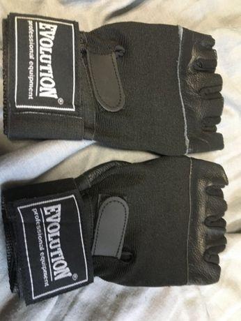 Evolution rękawice treningowe fitness XXL