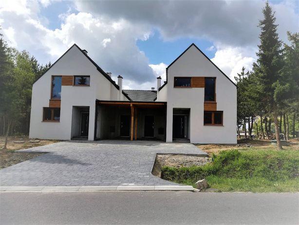 Nowe domy w zabudowie bliźniaczej- Św. Marek k. Sycowa