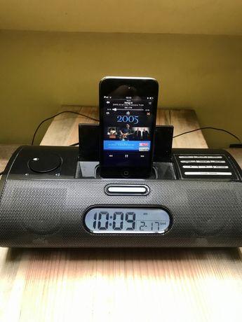 Stacja dokująca ipod , radio, budzik, aux