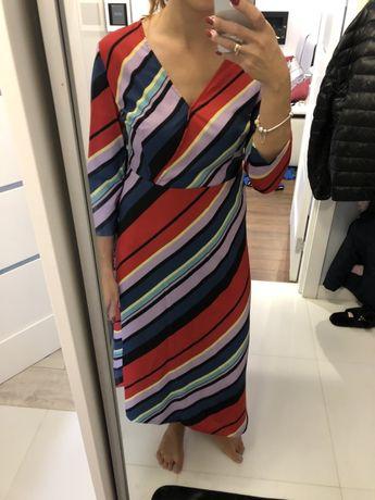 Nowa suknia jesien dlugi rekaw mohito