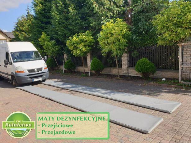 MATY DEZYNFEKCYJNE-bioasekuracja dla gospodarstwa-MATA przejściowa