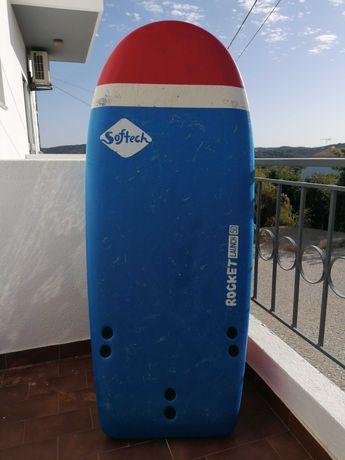 "Vendo prancha Surf Softboard Softech Rocket 50"""