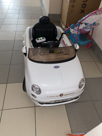 Детский электромобиль fiat 500
