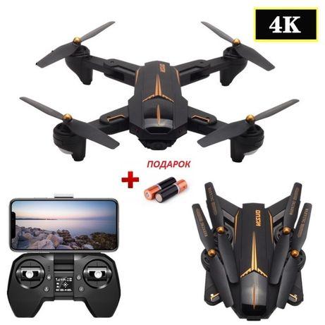 Квадрокоптер Visuo XS812 - дрон с 4K и HD камерами FPV GPS до 15 мин