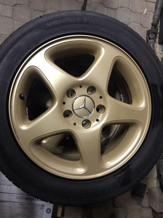 "Oryginalne felgi aluminiowe Mercedes Benz 5x112 ET37 7J 16"" Legnica - image 1"