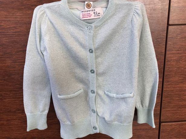 Sweterek dla dziewczynki Reserved 92