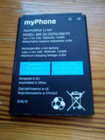 Akumulator bateria myphonedo telefonu