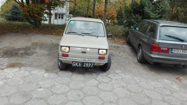 Unikatowy Fiat 126p