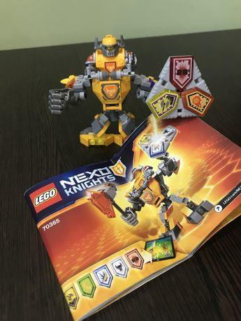 Конструктор LEGO Nexo Knights Боевые доспехи Акселя...  Подробнее на e