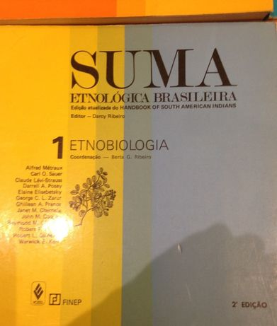 SUMA Etnológica Brasileira 3 Volumes