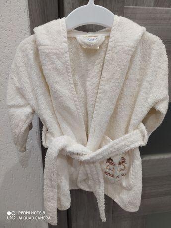 Дитячий махровий халат 0 - 12, 0 - 6