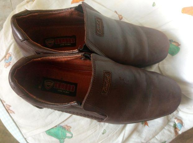 Мужские туфли натуральная кожа размер 40