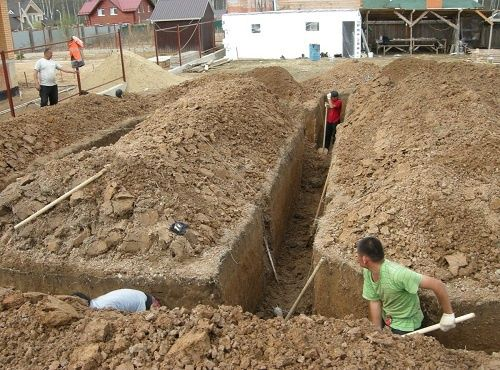 Земельные работы, копка кладка кирпича спил деревьев, заливка бетона