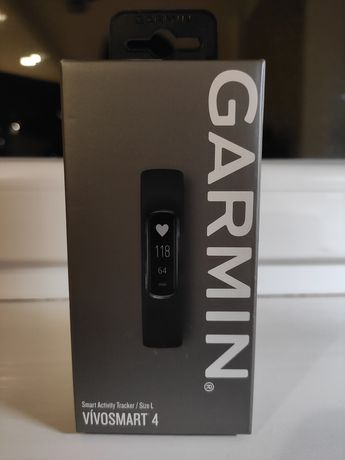 Garmin фітнес браслет фитнес-браслет Vivosmart 4  Black -L