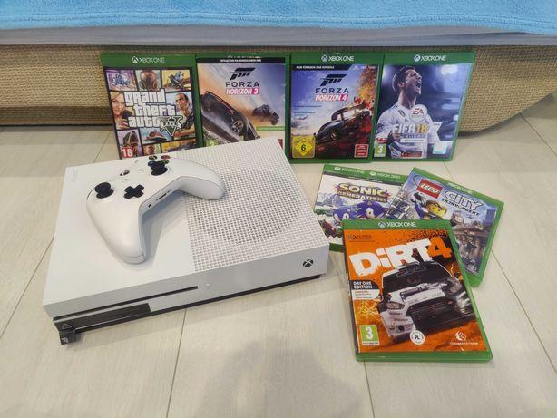 Konsola Xbox One S 1TB + 7 gry