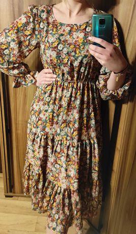 Sukienka kwiatowa Shein