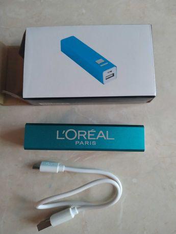 Зарядное устройство power bank loreal paris 2200mah